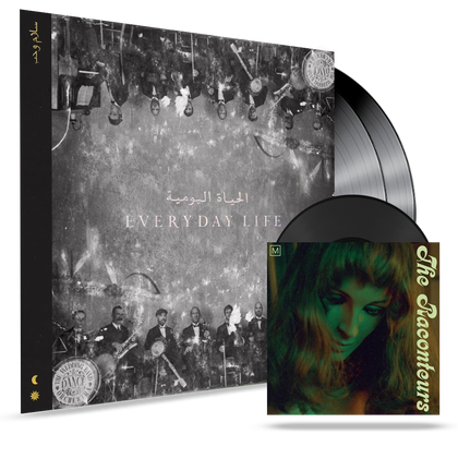 Coldplay - Everdyday Life (180G 2XLP) - MEMBER EXCLUSIVE - Blind Tiger Record Club