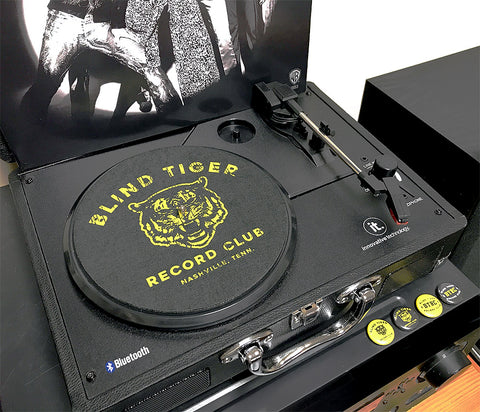 "Record Slip Mat (7"" or 12"") - Blind Tiger Record Club"