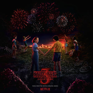 "Stranger Things 3: Music from the Netflix Original Series (Ltd. Ed. 150G 2XLP) Bonus 7"" Single - Blind Tiger Record Club"
