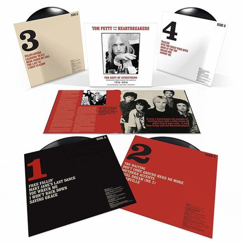 Tom Petty - The Best Of Everything - The Definitive Career Spanning Hits Collection (180G, 4XLP)