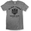Logo Shirt (Heather Gray) - Blind Tiger Record Club