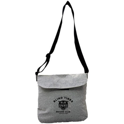 Vinyl Record Messenger Bag - Blind Tiger Record Club