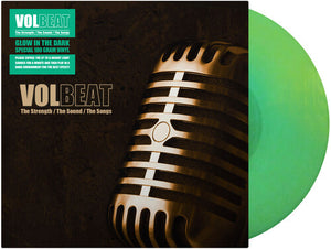 Volbeat - The Strength, The Sound, The Songs (Ltd. Ed. Glow in the Dark Vinyl) - Blind Tiger Record Club