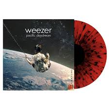 Weezer - Pacific Daydream (Ltd. Ed. Red/Black Splatter Vinyl) - Blind Tiger Record Club