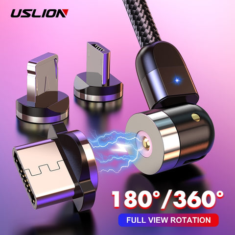 USLION Magnetic USB Cable