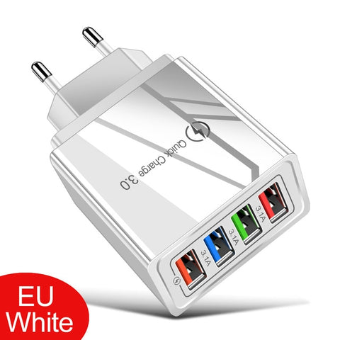 Quick Charge 3.0 EU/US Plug USB Charger For Phone