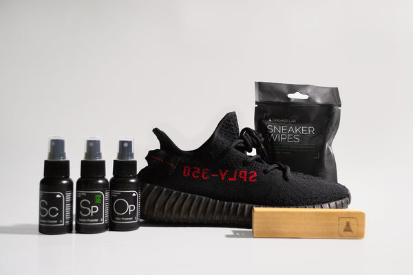 how to clean yeezy 350 black red sneaker lab