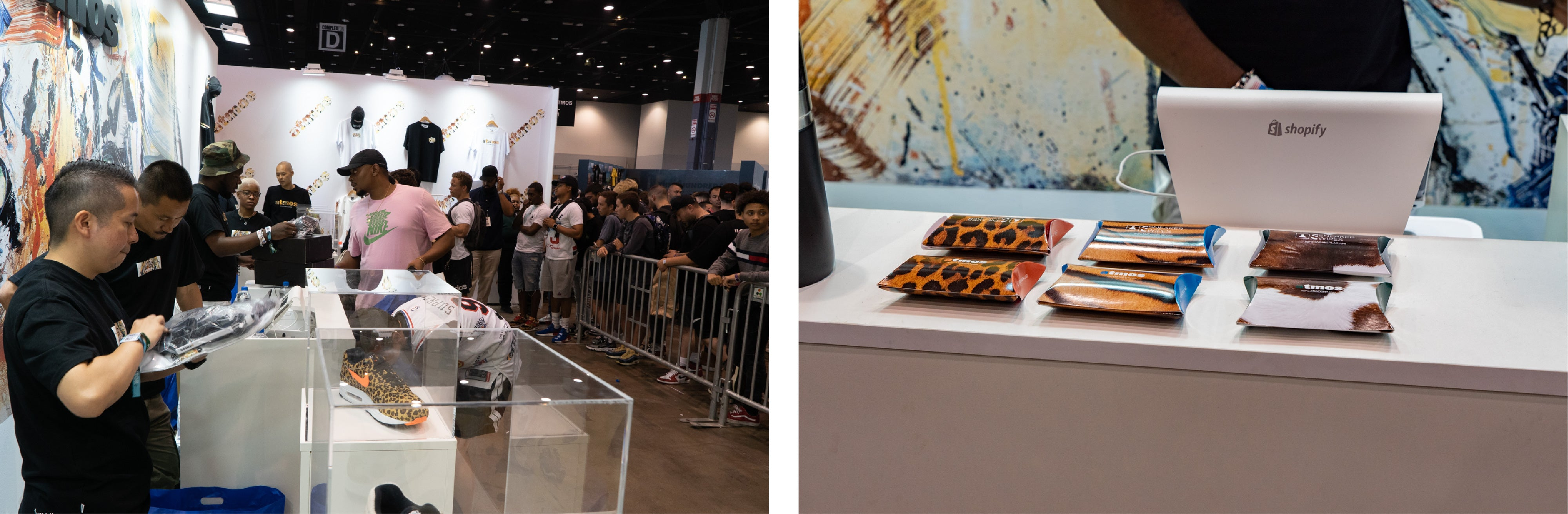 Sneaker LAB x Atmos Animal Pack 3 0 at ComplexCon Chicago
