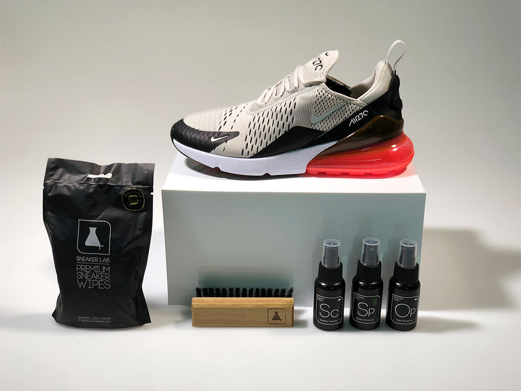 best website c8d23 41df1 How To Clean Your Nike Air Max 270 Sneaker LAB
