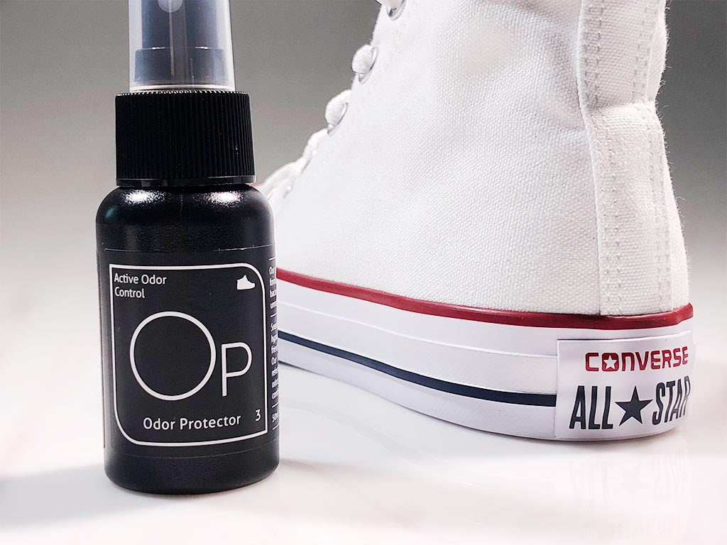 Odor Protect Your White Converse