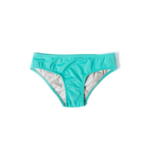 Brief Bikini Bottom (Sea Green) - Agos Surf & Swimwear