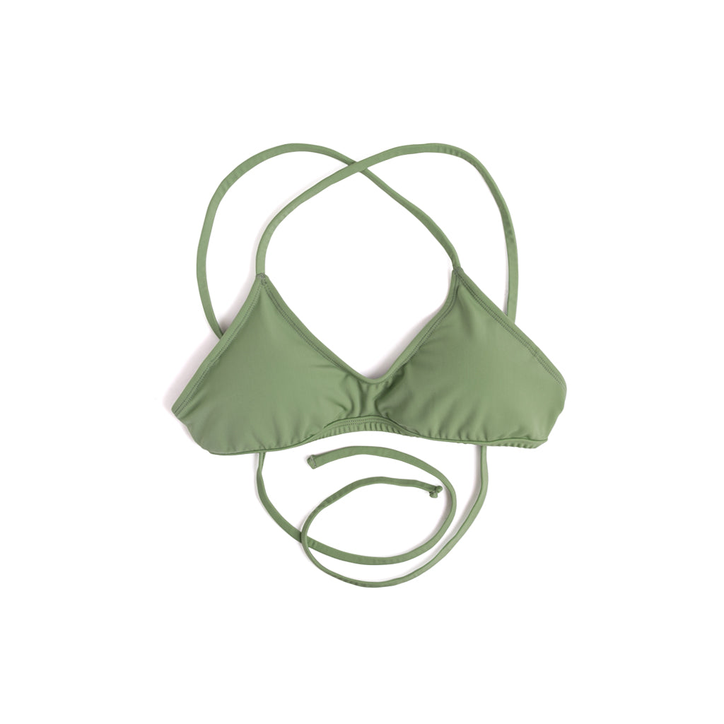 Cross-Training Bikini (Olive) - Agos Surf & Swimwear