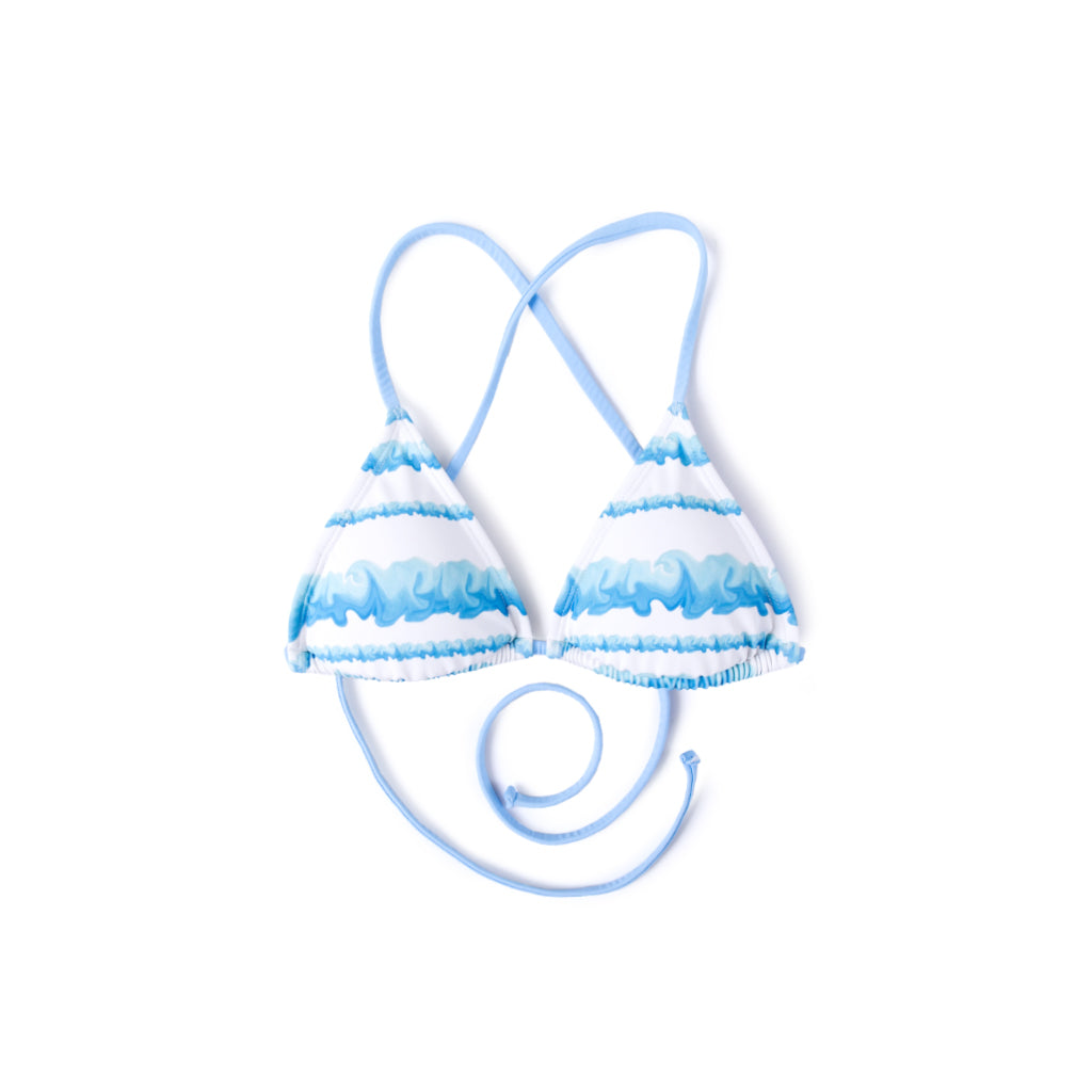Wave Surf Bikini (Light Blue)