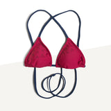 TechSkin Surf Bikini (Wine Red and Navy)