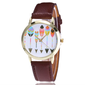 Montre cuir Arrow