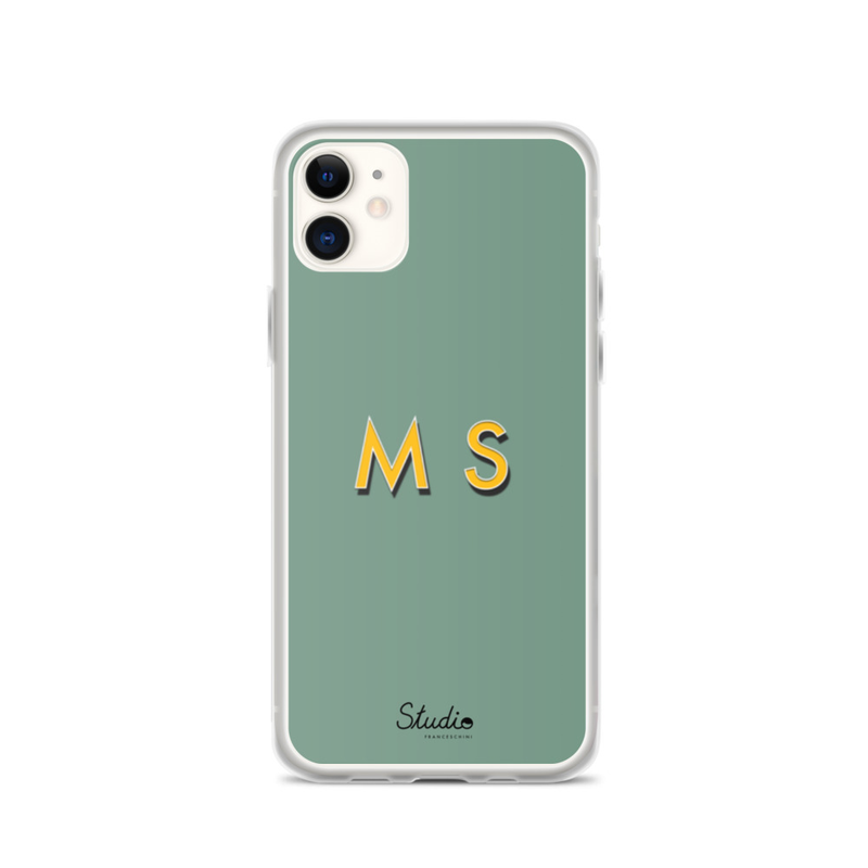 Iphone cover - customize your initials