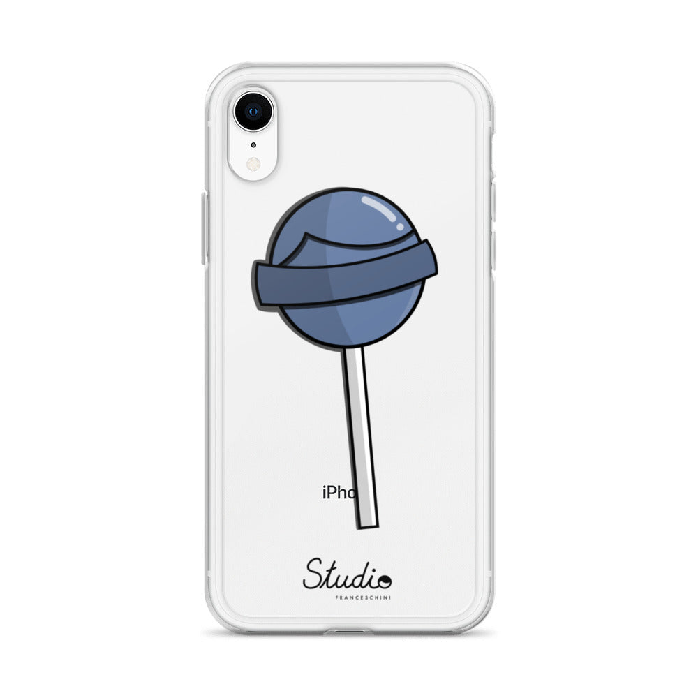 iPhone Cover - Lollipop - Baby blue