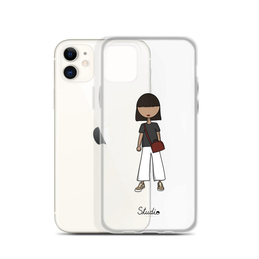 Customized Cartoon iphone Cover + Free sticker