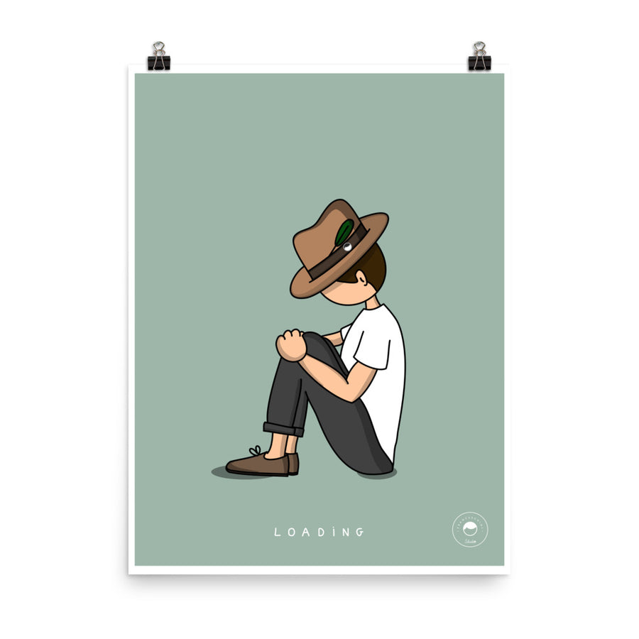 Print - Cosmy Loading - Mint