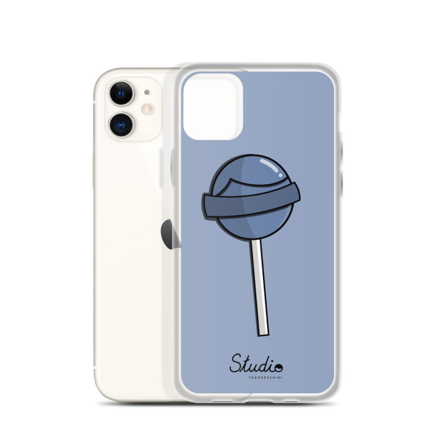 iPhone Cover -Lollipop - Baby blue