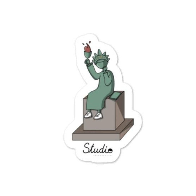 Sticker - statue of liberty