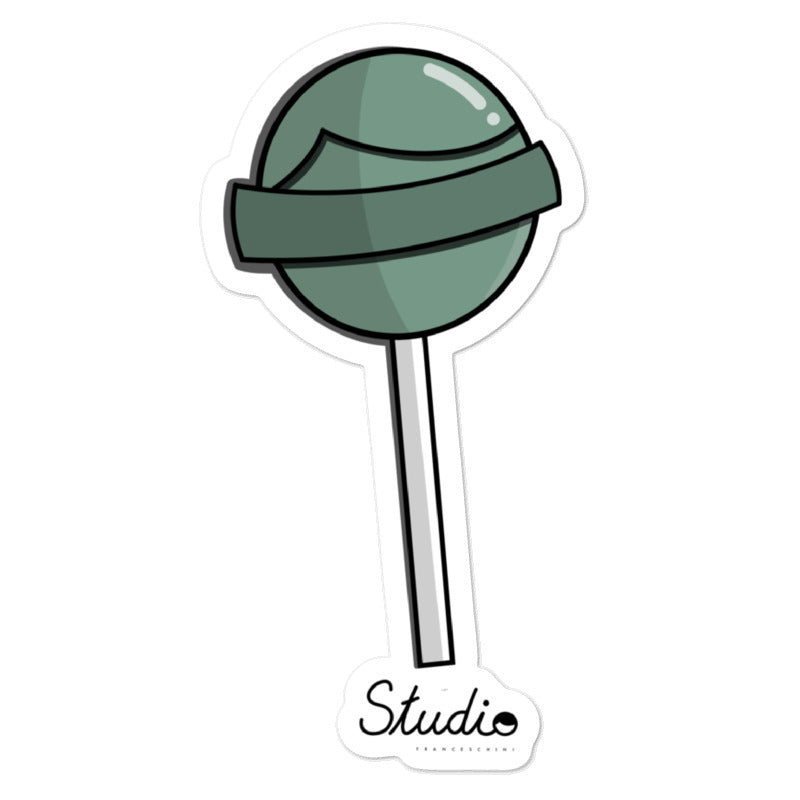 sticker- Lollipop mint