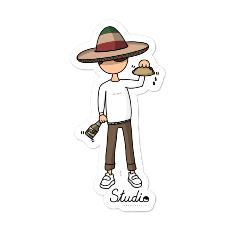 Sticker - cosmy mexicano