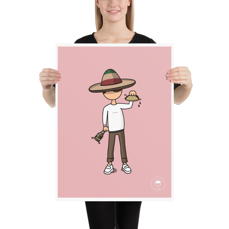 Print - Cosmy Mexicano - Pink