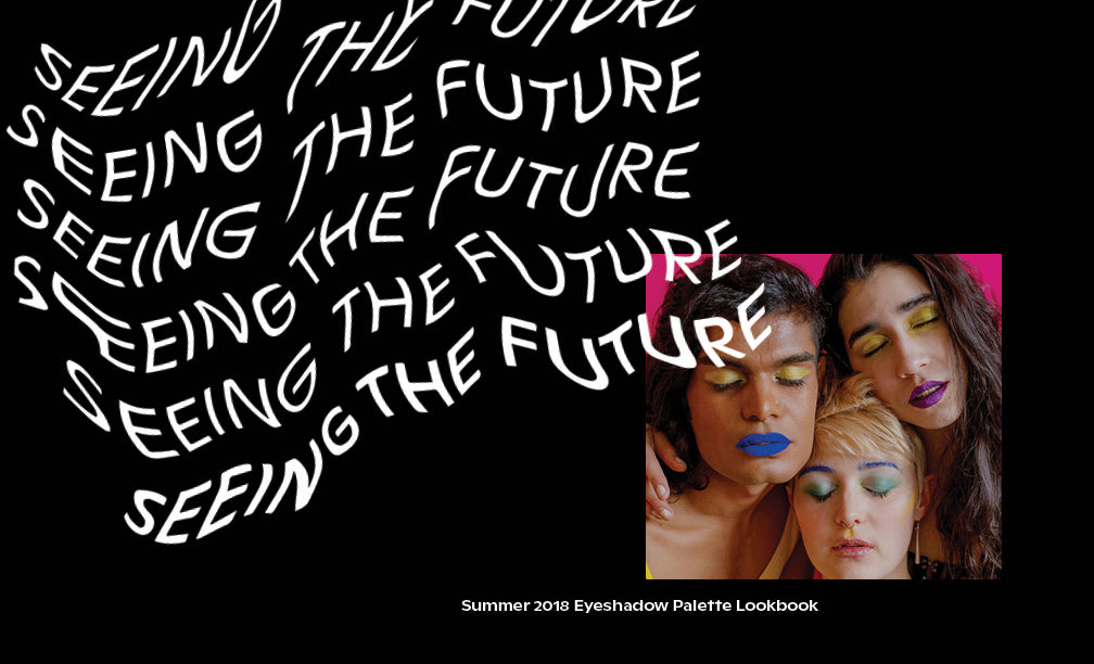 Fluide Seeing the Future Lookbook - Laurence Philomene
