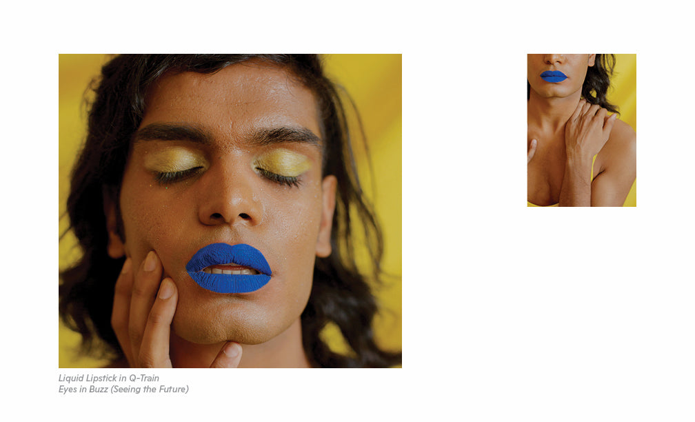 Seeing the Future Eyeshadow Lookbook - Laurence Philomene