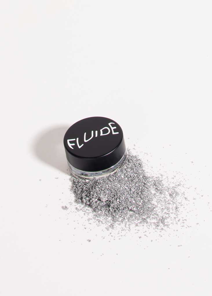 Biodegradable Glitter in Silver