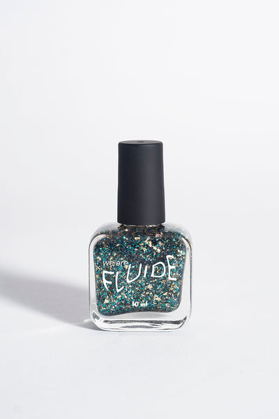 7-free polish in new year's revolution glitter shade
