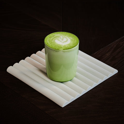 Matcha horchata oat milk specialty drink Milky's Toronto coffee shop