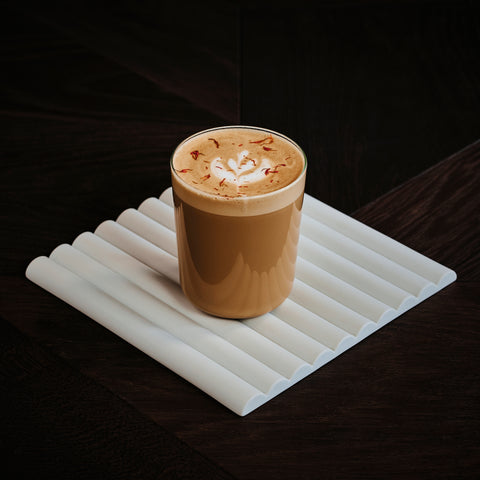 The MSG pumpkin spice latte drink Toronto coffeeshop coffee