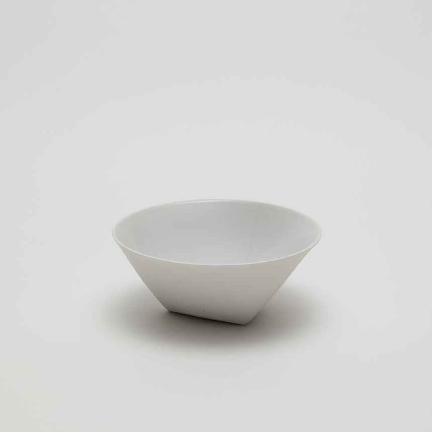 Medium bowl designed by Christian Haas for Arita 2016. Handmade in Japan. Contemporary ceramics with glazed interior, matte exterior.