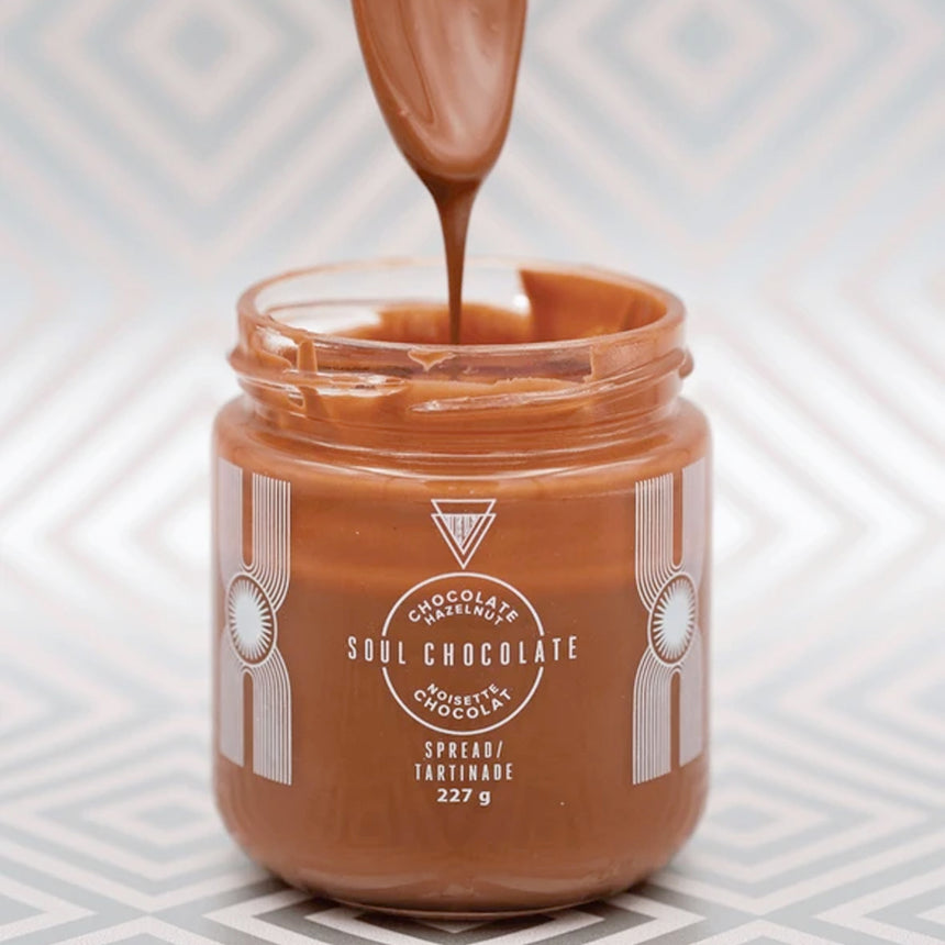 Chocolate Hazelnut Spread by Soul Chocolate