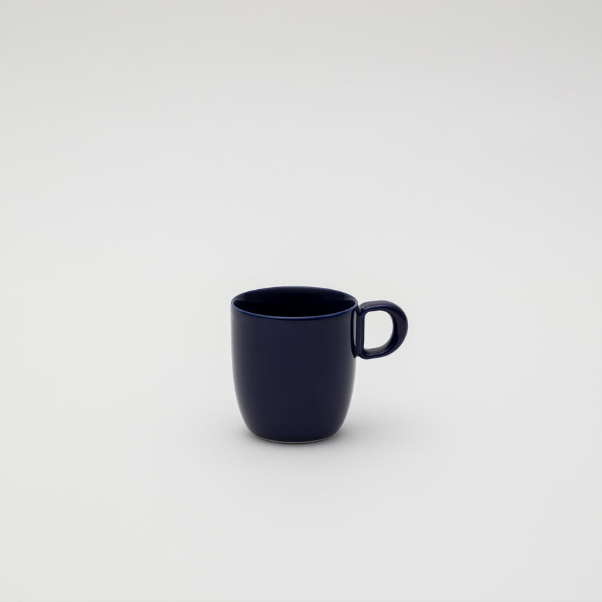 Mug in Dark Blue by Leon Ransmeier