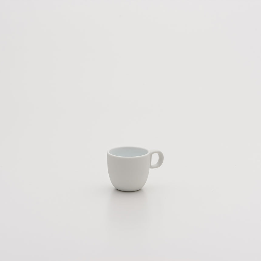 Espresso Cup in White by Leon Ransmeier