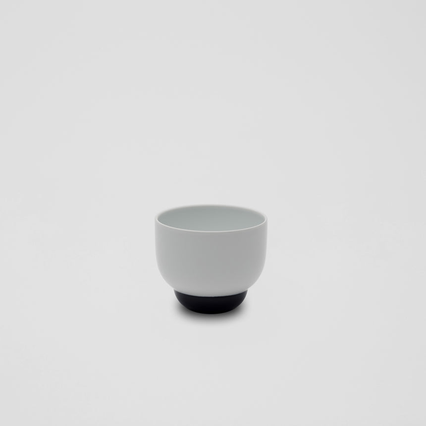Cup in White and Blue by Pauline Deltour