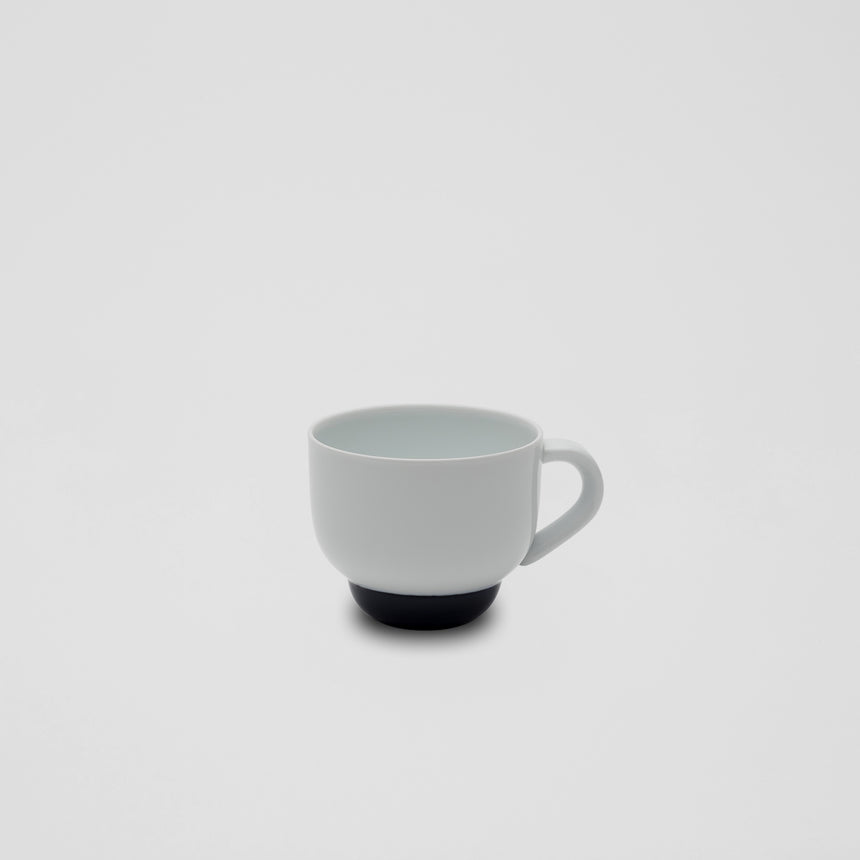 Mug in White and Blue by Pauline Deltour