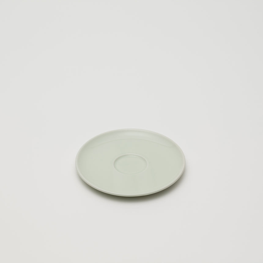 Saucer in Celadon by Pauline Deltour