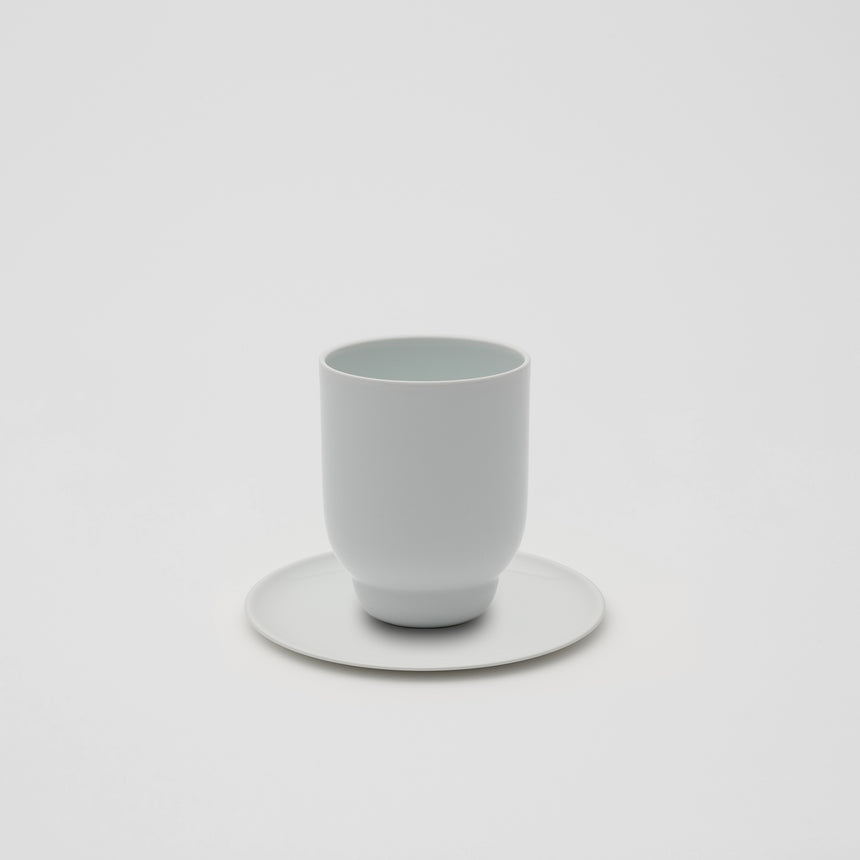 Tall Cup in White by Pauline Deltour