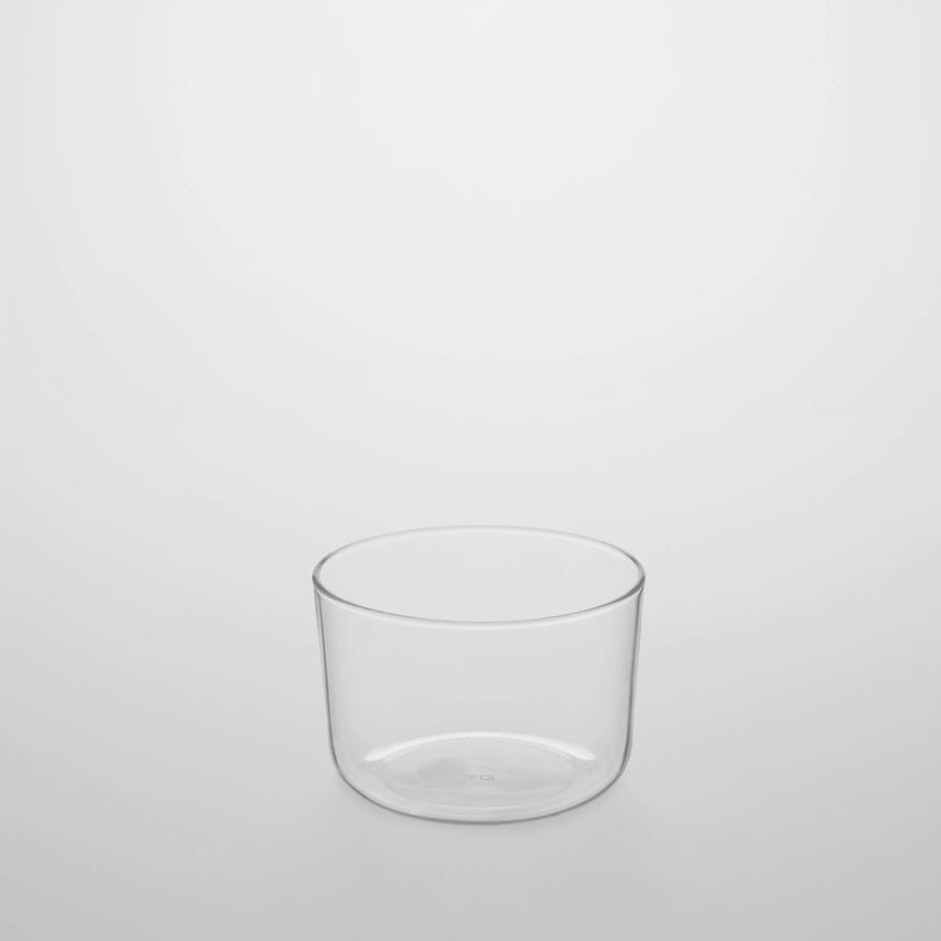 Wide Mouth Glass Cup