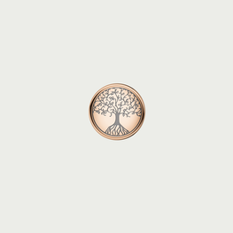 Charm TREE OF LIFE - Rose Gold