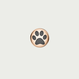 Charm DOG PAW - Rose Gold