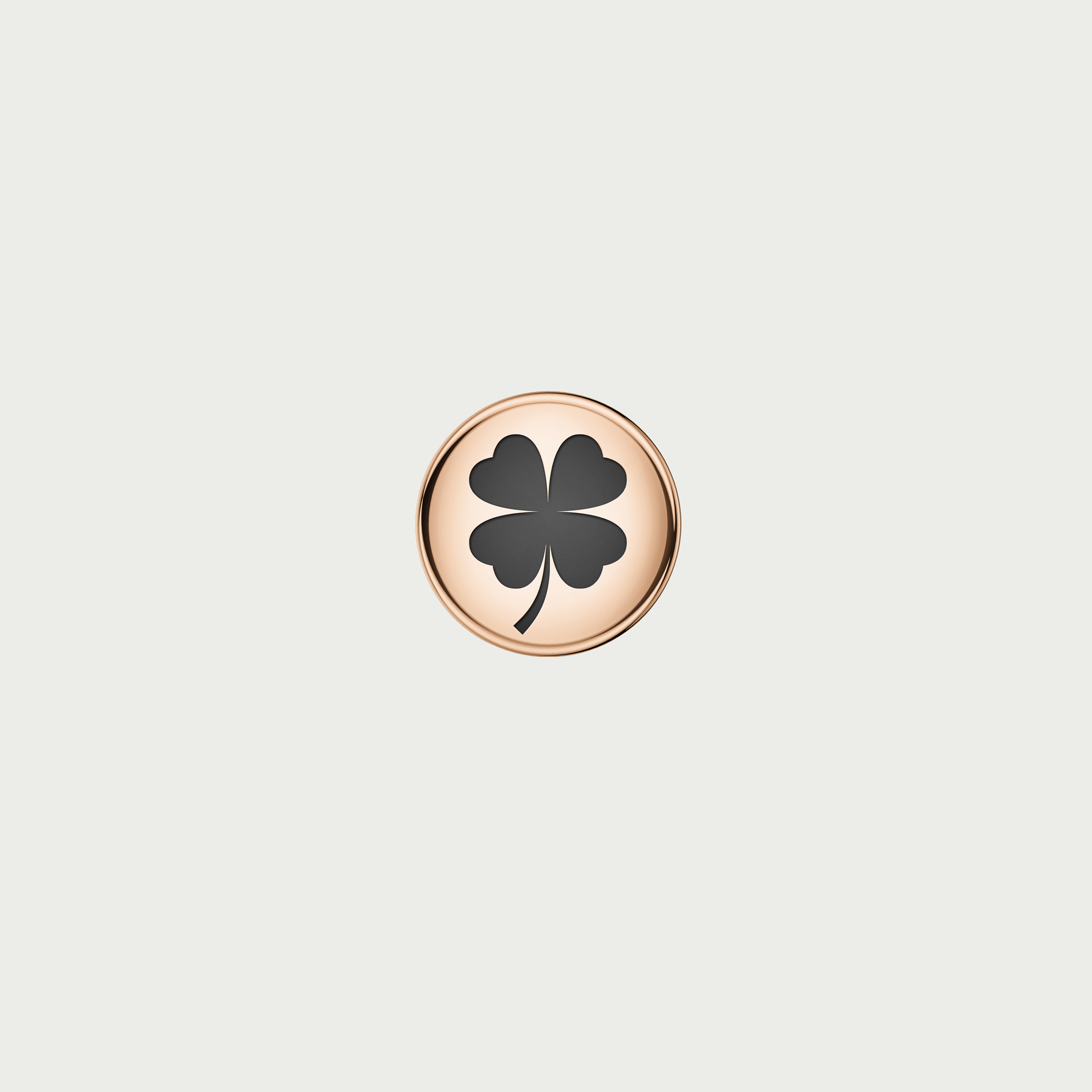 Charm CLOVER - Rose Gold