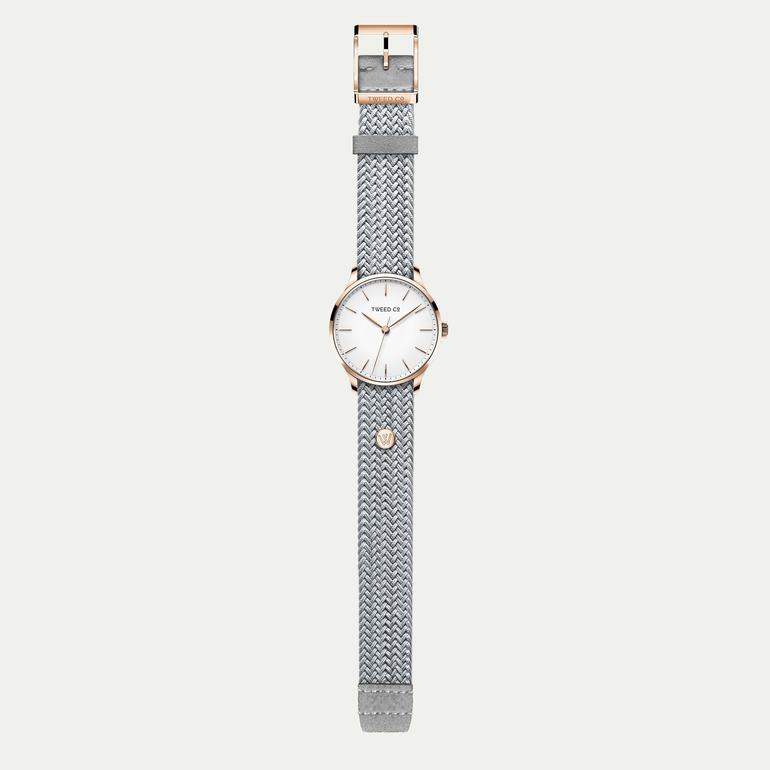 VANESSA (Silver) - Rose Gold - 36 mm