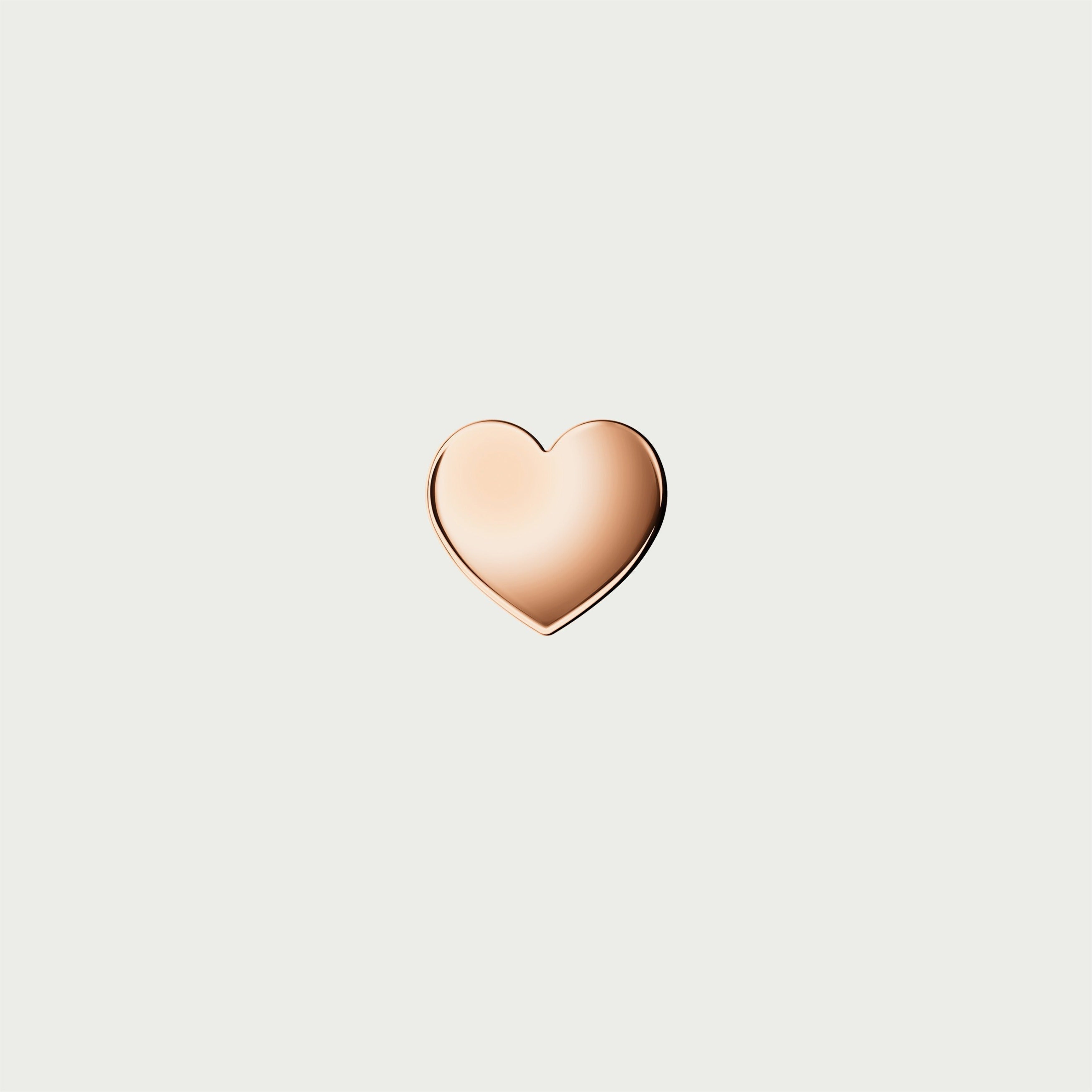 Charm HEART - Rose Gold