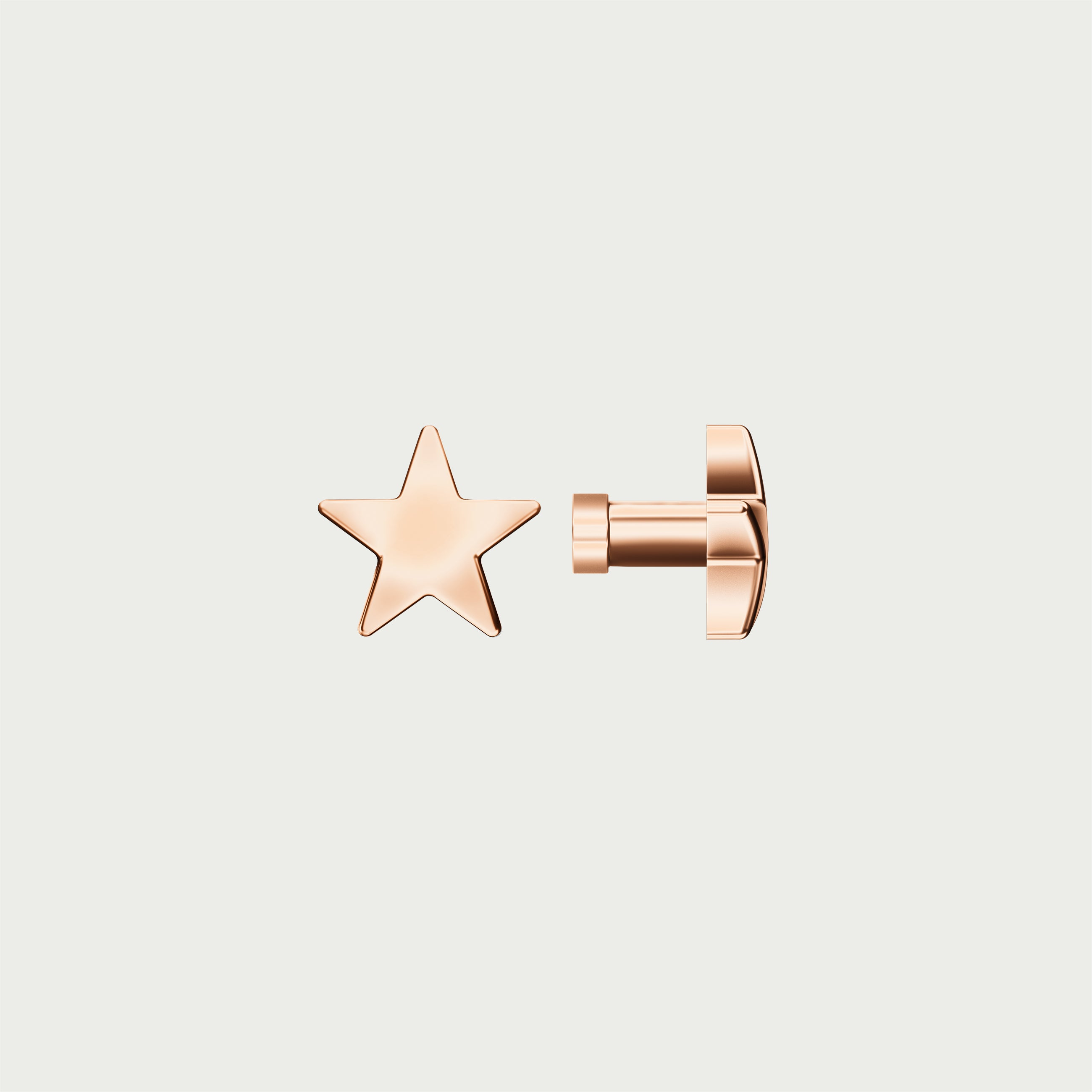 Charm STAR - Rose Gold