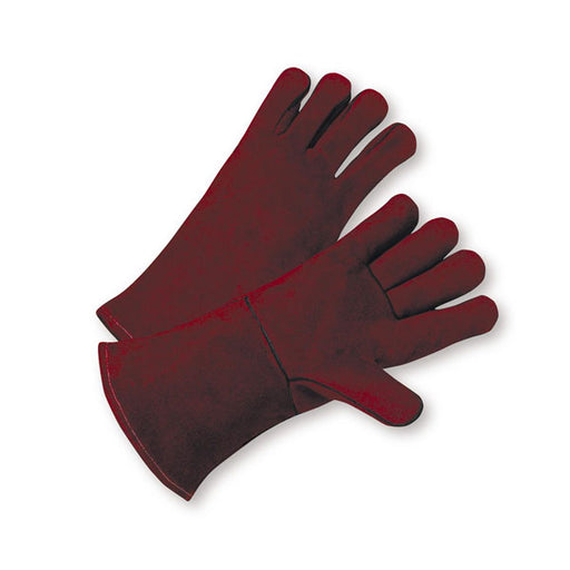 Heavy Duty Cowhide Woodburner's Gloves
